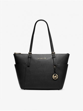 женская Сумка Michael Kors Jet Set Travel 30F2GTTT8L Black