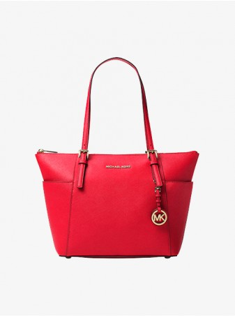 Красная Сумка Michael Kors Jet Set Travel 30F2GTTT8L Red