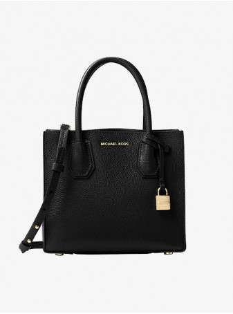 Черная Сумка Michael Kors Mercer 30F6GM9T2L Black