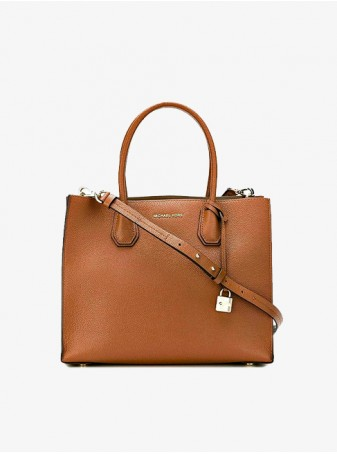 Michael Kors Сумка женская Mercer 30F6GM9T2L Luggage Коричневая