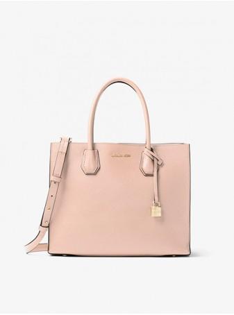 Сумка женская Michael Kors Mercer 30F6GM9T3L Soft Pink Розовая