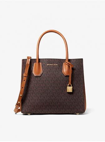Сумка Michael Kors женская Mercer Mini 30F8GM9M6B Brown Logo