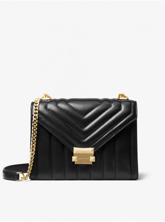 Сумка Michael Kors женская Crossbody 30F8GXIL3T Black Whitney