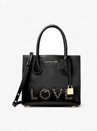 Сумка Michael Kors Mercer Черная 30H7GM9M6O Black