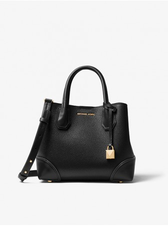 Michael Kors Черная Сумка Mercer 30H7GZ5T1T Black