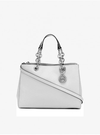 Сумка женская Michael Kors Синтия Серая Medium 30H7SCYS2L Pearl Grey