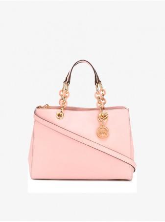 Розовая Сумка Michael Kors Синтия 30S3TCYS2L Pale Pink