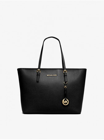 Сумка Michael Kors Jet Set Travel женская Черная 30S4GTVT2L Black