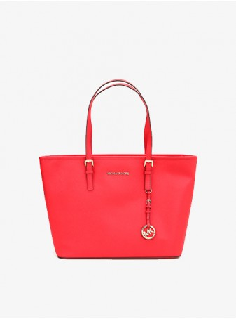 Сумка Красная Michael Kors Jet Set Travel 30S4GTVT2L Red