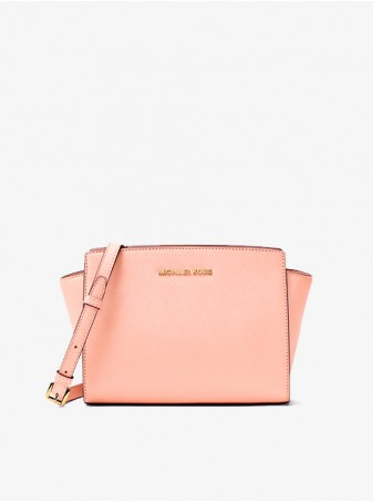 Michael Kors Сумка Розовая Selma Medium 30T3GLMM2L Pale Pink Crossbody