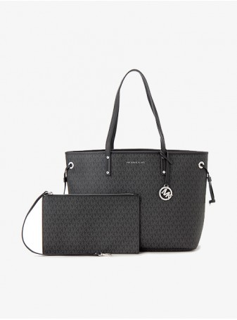 женская Сумка Michael Kors Jet Set Travel 35T8STVT9B Black Большая
